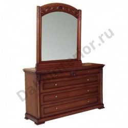 Комод с зеркалом Валенсия