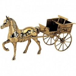 Лошадь с колесницей St553