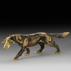 Собака с уткой V1432